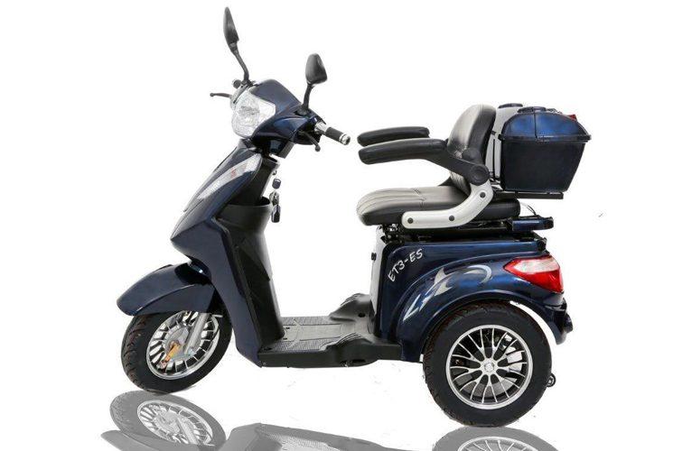 Le Triporteur Ecolo Cycle ET-3-ES, idéal pour vous déplacer sans tracas